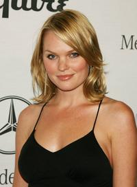 Sunny Mabrey at the Esquire Magazines opening night celebration to benefit The Art of Elysium.