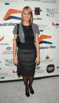 Sunny Mabrey at the Australians In Film 2006 Breakthrough Awards.