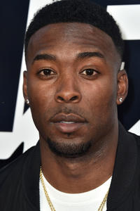 Andrew Hawkins at the premiere of