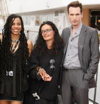 Suzan-Lori Parks, Mary McGuckian and Michael Eklund at the photocall of