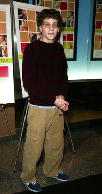 Jesse Eisenberg at the New York screening of