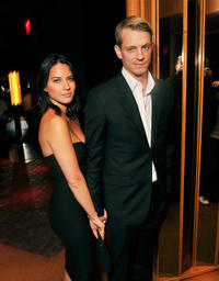 Olivia Munn and Joel Kinnaman at the New York premiere of