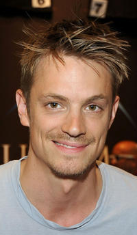 Joel Kinnaman at the Emile Hirsch Autograph Signing during Comic-Con 2011 in California.