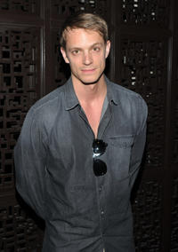 """Joel Kinnaman at the after party of the New York premiere of """"The Art of Getting By."""""""