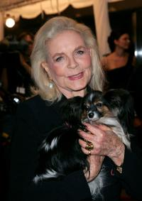 Lauren Bacall at the premiere of
