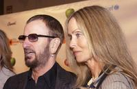Barbara Bach and her husband Ringo Starr at the gala screening of