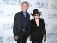 Bob Gruen and Yoko Ono at the