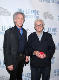 Bob Gruen and Albert Maysles at the