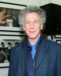 Bob Gruen at the opening of the Not Fade Away Gallery.