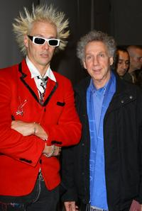 Supla and Bob Gruen at the Mercedes-Benz Fashion Week Fall 2008.