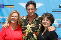 JoBeth Williams, Robert Hays and Jill Seltzer at the 3rd Annual SAG Foundation Golf Classic in California.