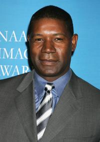 Dennis Haysbert at the 37th NAACP Image Awards' Nominee Luncheon.