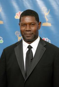 Dennis Haysbert at the press room at the 58th Annual Primetime Emmy Awards.