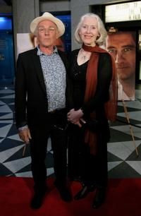 Chris Haywood and Julia Blake at the premiere of