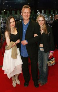 Anthony Head and his daughters at the European premiere of