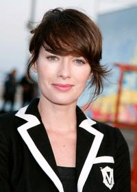 Lena Headey at the FOX All-Star Party.