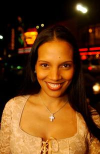 Shari Headley at the screening of Civil Band during the Pan African Film and Arts Festival.