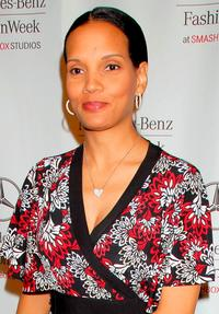 Shari Headley at the Mercedes Benz Fashion Week.