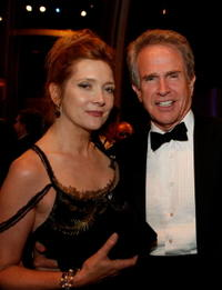 Glenne Headly and Warren Beatty at the 36th AFI Life Achievement Award.