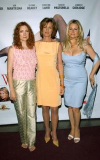 Glenne Headly, Christine Lahti and Jennifer Coolidge at the premiere of