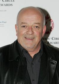 Tim Healy at the Critics' Circle Theatre Awards.