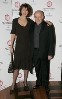 Haydn Gwynne and Tim Healy at the Critics' Circle Theatre Awards.