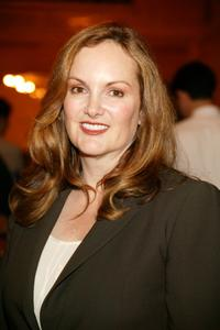 Patricia Hearst at the cocktail reception of