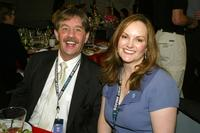 Bernard Shaw and Patricia Hearst at the 2003 IFP Independent Spirit Awards.