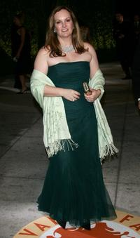 Patricia Hearst at the 2007 Vanity Fair Oscar Party.