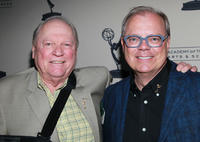 Conrad Bachmann and John Shaffner at the Academy of Television Arts & Science's Performers Peer Group Emmy reception.