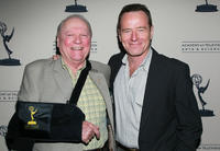 Conrad Bachmann and Bryan Cranston at the Academy of Television Arts & Science's Performers Peer Group Emmy reception.