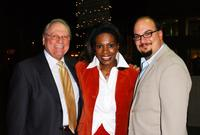 Conrad Bachmann, Sheryl Lee Ralph and Anthony Zuiker at