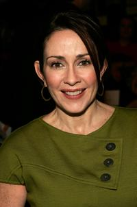 Patricia Heaton at the Bill Blass Fall 2007 fashion show.