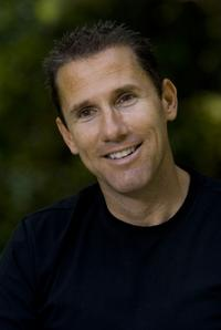 Author Nicholas Sparks on the set of