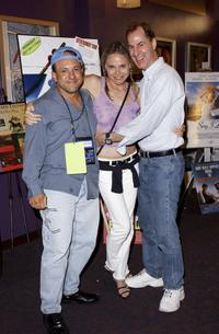 Kyle Heffner, Priscilla Barnes and Director Doug Cox at the LA Premiere of
