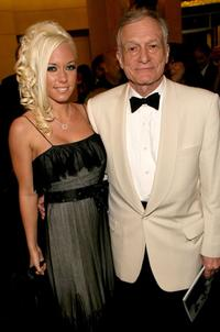 Kendra Wilkinson and Hugh Hefner at the 34th AFI Life Achievement Award tribute to Sir Sean Connery.