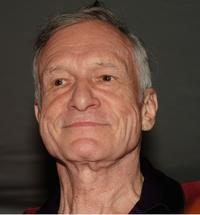 Hugh Hefner at the Gumball 3000 Playboy Mansion Party.