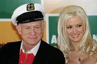 Hugh Hefner and his girlfriend Holly Madison at the 59th International Cannes Film Festival.