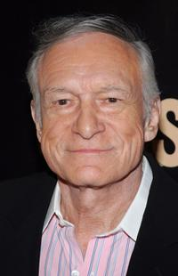 Hugh Hefner at the launch party for season three of