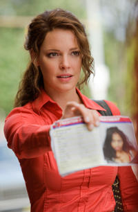 Katherine Heigl as Stephanie Plum in
