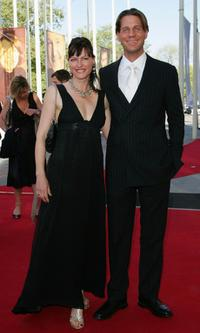 Nina Kronjaeger and Thomas Heinze at the German Film Awards.