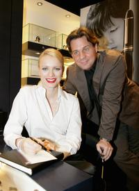 Franziska Knuppe and Thomas Heinze at the Montblanc