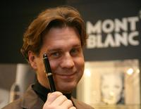 Thomas Heinze at the Montblanc