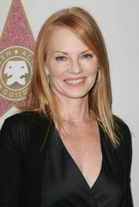 Marg Helgenberger at the Award Of Excellence Star presentation for the Screen Actors Guild.