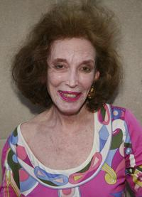 Helen Gurley Brown at the opening celebration of Emilio Pucci Fifth Avenue store.