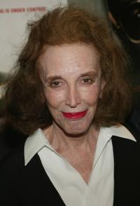 Helen Gurley Brown at the World premiere of