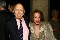 David Brown and Helen Gurley Brown at the after party of the opening night of