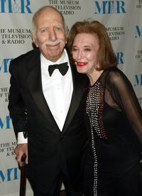 David Brown and Helen Gurley Brown at the Museum of Television and Radio gala honoring of Merv Griffin.