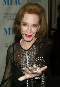 Helen Gurley Brown at the Museum of Television and Radio gala honoring of Merv Griffin.