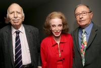 David Brown, Helen Gurley Brown and Peter Bart at the cocktail party to celebrate new book